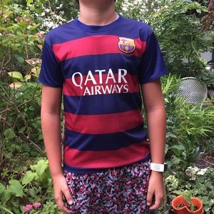 Other - Messi Barcelona FC Kids Soccer Jersey